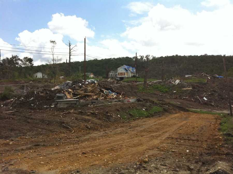 Monson residents said their town would recover, but would never look the same.