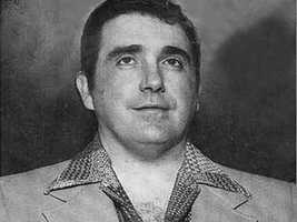 Gambling executive John Callahan's bullet-riddled body was discovered in the trunk of his Cadillac at Miami's airport in 1982.Jury found prosecutors proved their case in this death.
