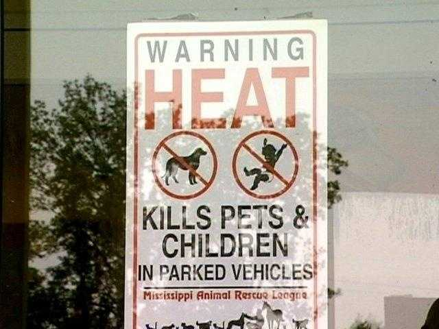 Never leave children or pets alone in a closed vehicle.