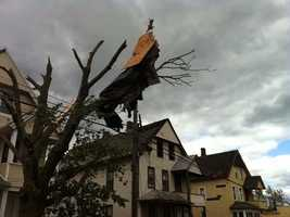 Take a look back at pictures of the storm's wrath taken by NewsCenter 5 photographers and reporters in the days after the tornadoes.