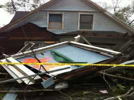 88 homes were destroyed in West Springfield