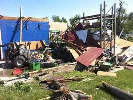 Debris in Monson