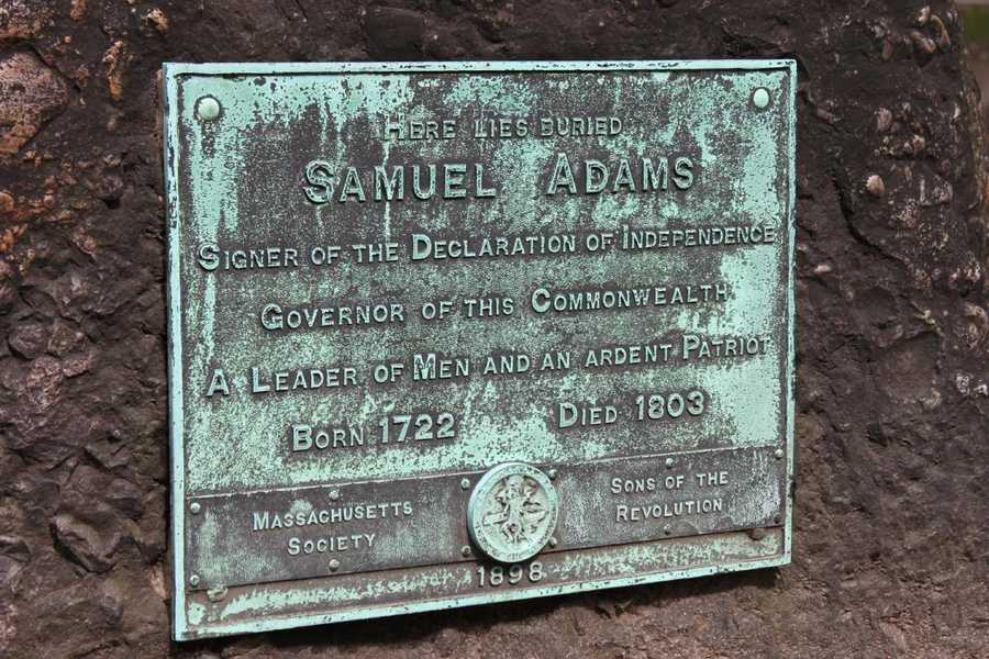 Samuel Adams (1722-1803), revolutionary firebrand, signer of the Declaration of Independence.