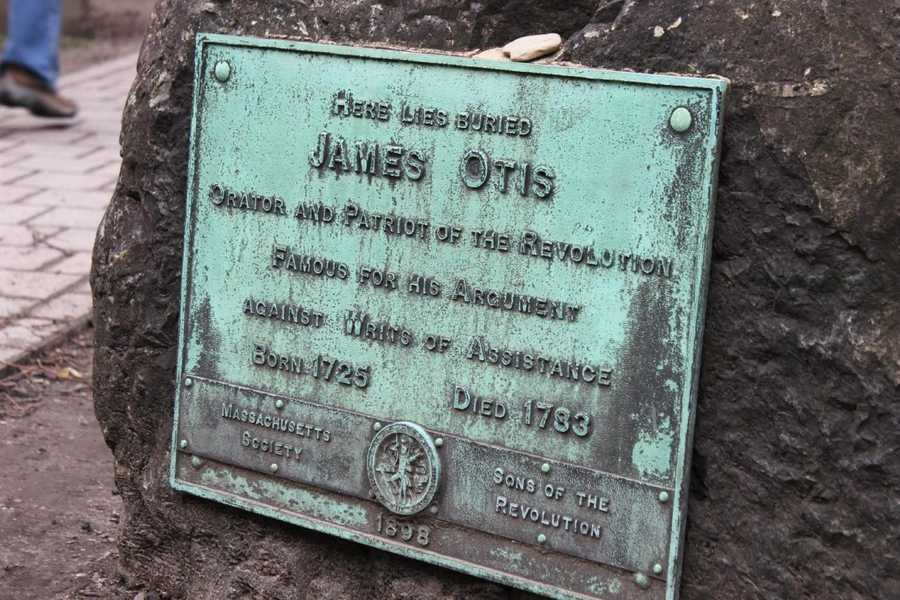 James Otis (1725-1783), lawyer, Revolutionary War Patriot