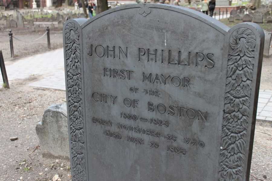 John Phillips (1770 – 1823), first mayor of the city of Boston