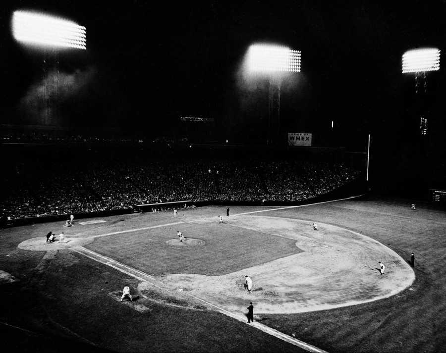 Fenway at night, 1947