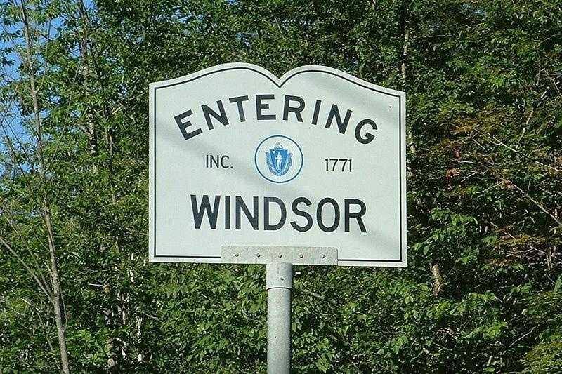 Windsor -- Population 903