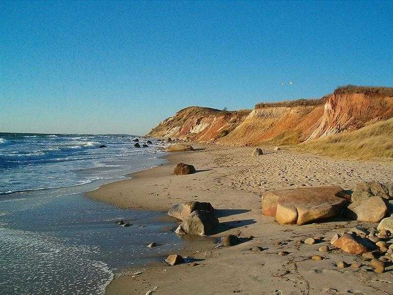 Aquinnah -- population 322 -- is located on the island of Martha's Vineyard. Prior to 1998 the town was officially known as Gay Head.