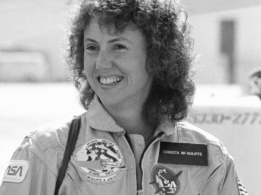 In 1985, Christa McAuliffe was selected from more than 11,000 applicants to participate in the NASA Teacher in Space Project