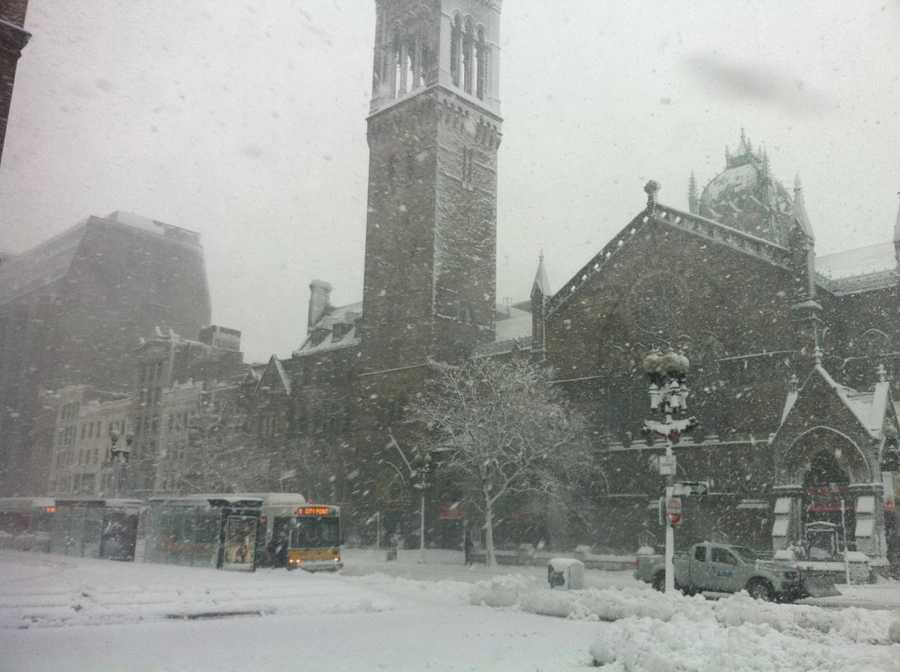 Copley Square at Mid-morning