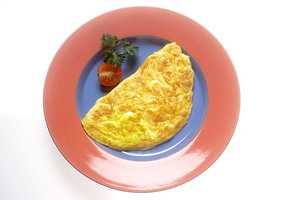 The more protein you eat in the morning, the better!