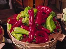 4.) Hot Peppers