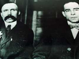 Ferdinando Nicola Sacco and Bartolomeo Vanzetti were anarchists who were convicted of murdering two men during a 1920 armed robbery in South Braintree, Massachusetts.