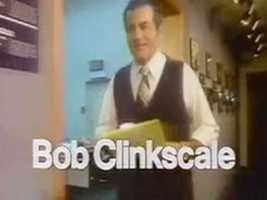 Reporter/Anchor Bob Clinkscale in a 1978 newscast intro.