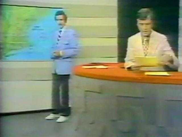 Meteorologist Bob Copeland and anchor Jack Hynes