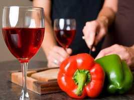4.) Wine