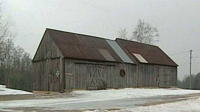Barn on J.D. Salinger's property