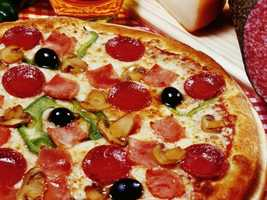 The secret swap for pizza? Pizza! Just eat it the way they do in Italy.
