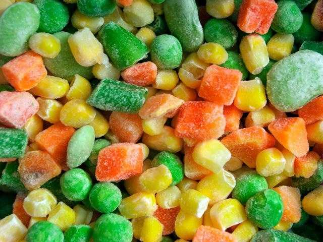 Frozen veggies, on the other hand, are usually picked ripe and immediately flash frozen, so they retain most of their nutrients.
