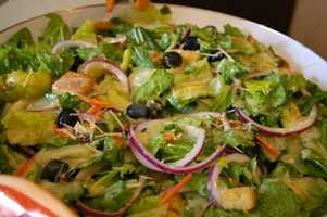 Salad veggies are filled with terrific nutrients like lycopene and beta-carotene.