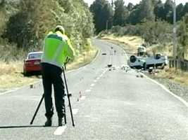 Three Boston University students who were studying in New Zealand were killed Saturday when their minivan crashed.
