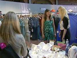 But this year show isn't just reviewing, she retailing...to launch bostonistaboutique.com