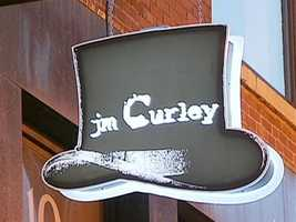 Andy Cartin says his Temple Place bar, JM Curley, often gets do packed...there's a wait to even get in. But, he remembers this street as a silent, secluded place after dark.