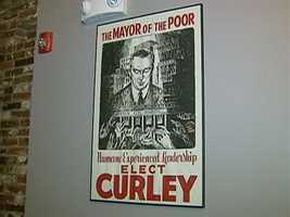 The bar was named after one of Boston's colorful political icons...Jame Michael Curley.