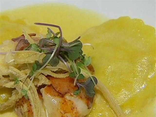 Like the lobster ravioli....