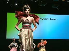 Another inspired by the designer's Korean heritage.