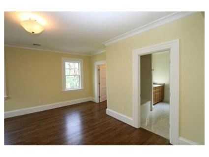 The master bedroom has 14 foot ceilings.