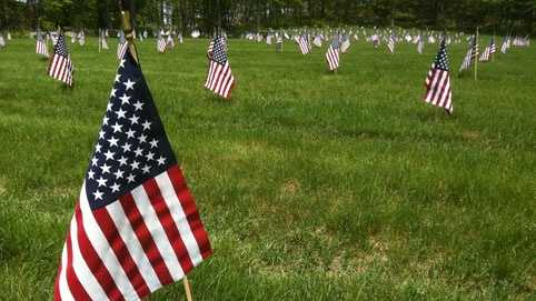Bourne National Veterans Cemetery Memorial Day