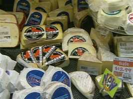 Vermont produces more cheese, per capita, than any other state.