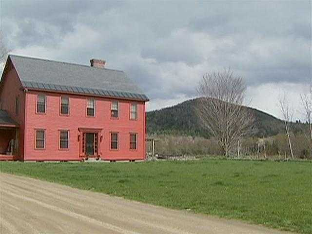 "The Fischers ""escaped"" New York to raise their children in this bucolic countryside."