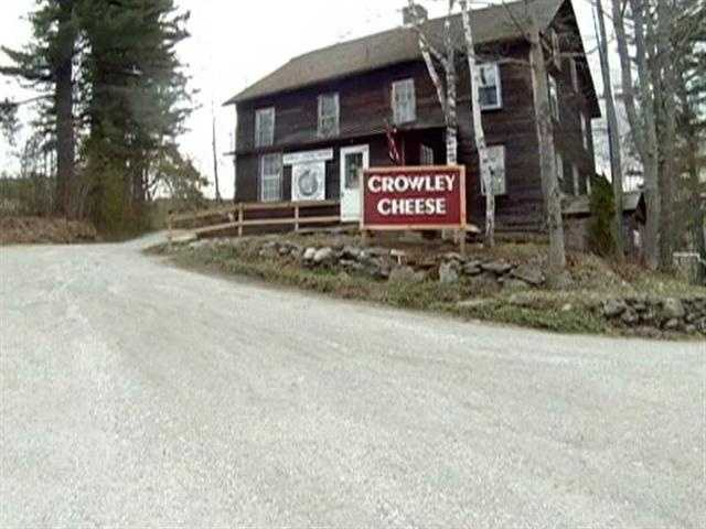 Crowley Cheese is the oldest, continuously operating cheese factory in the country.