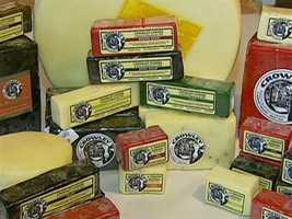 The cheese has won awards as a Cheddar, and has also been classified a Colby.