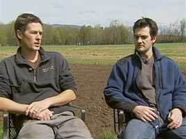 As with other dairies, the farm's future was in doubt, until grandsons Dan and Sebastian Von Trapp came home.