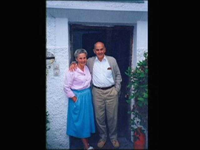 """Oma,"" who is Erika von Trapp, married Werner, one of the original singing siblings."