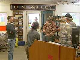 Without transportation costs, Willey's can sell for less.