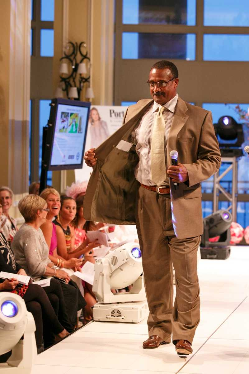 Jim Rice is on the runway as well!