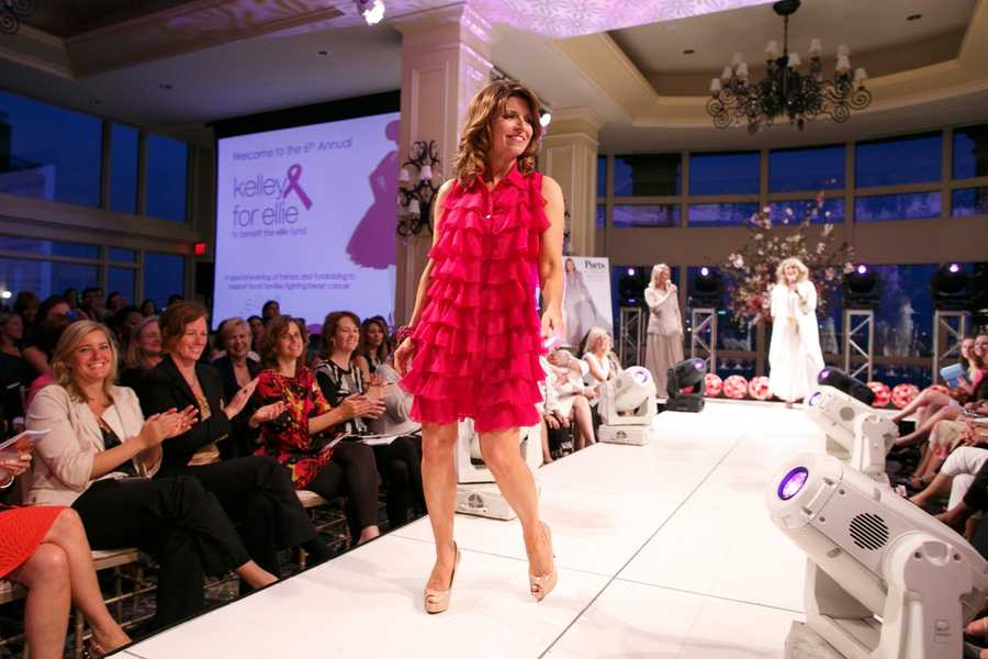 NewsCenter 5's Mary Saladna on the runway.