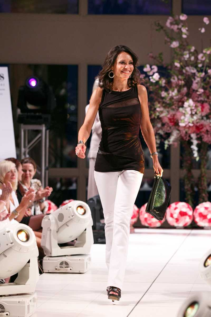 "On the runway for the annual ""Kelly for Ellie"" fundraiser."