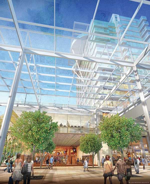 The cost estimate of the complex is about $1 billion.