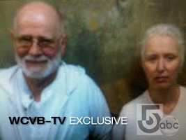 Bulger and Greig after their arrest in this exclusive photo obtained by NewsCenter 5's Kelley Tuthill.
