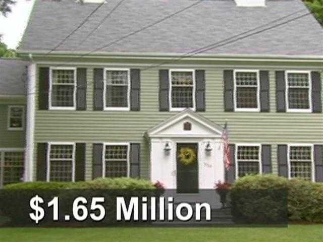 This house, built in 1800, is on the market for $1.65 million.