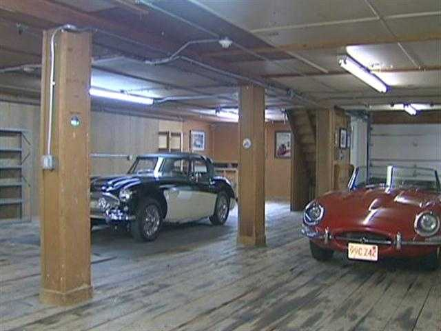 The current owner is a car collector.