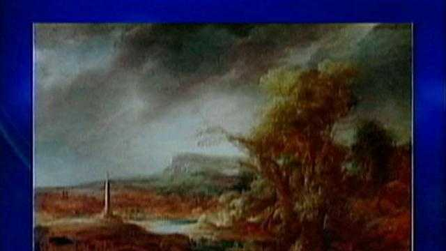 Missing Gardner Museum painting