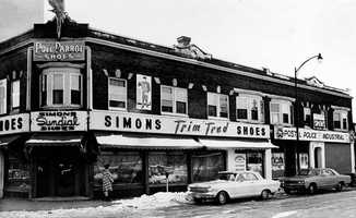 This is the J.B. Simons, Inc. store on Western Avenue in Lynn,  where Albert DeSalvo was captured Feb. 25, 1967.