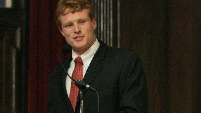 Joseph Kennedy III at Podium ap pic - 29887188