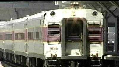 MBTA commuter train